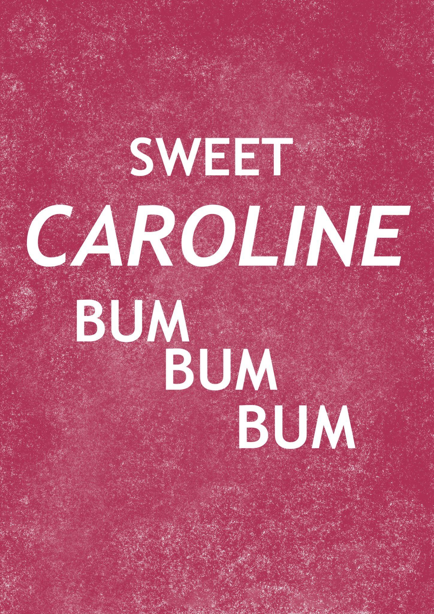 Pin On Sweet Caroline Ellie