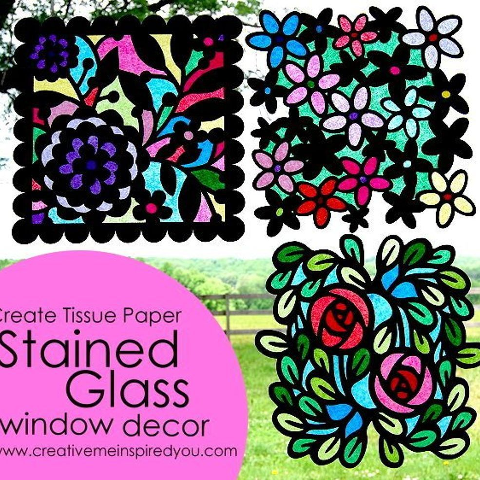 Stained Glass Window Sun Catchers