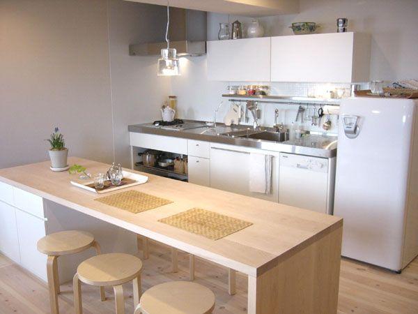 美しく 使いやすい収納のシンプルキッチン St House I型キッチン