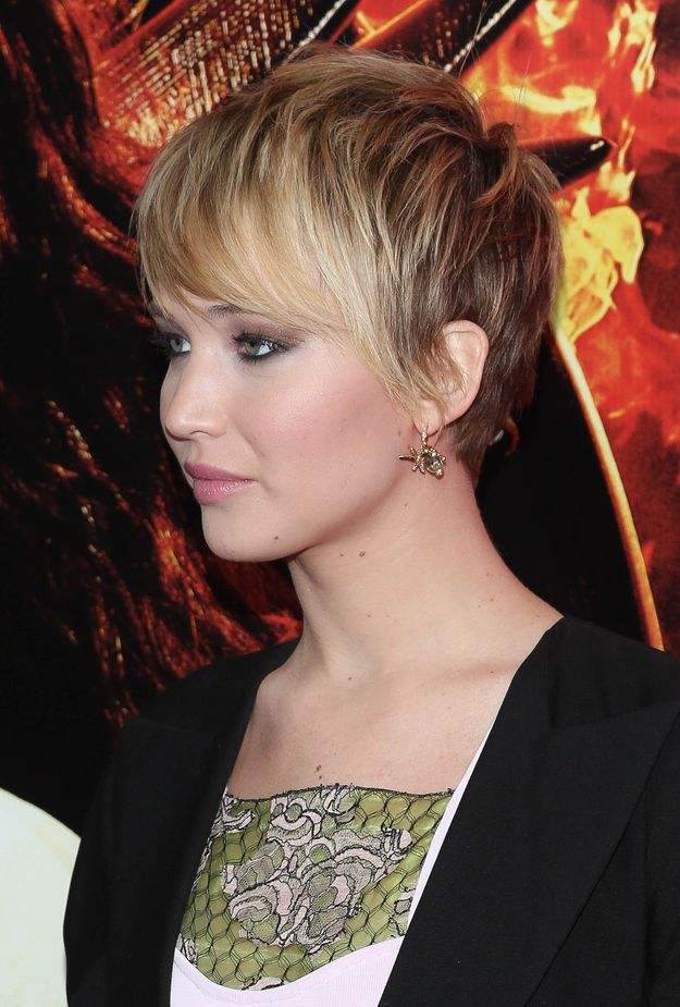 Ranking Jennifer Lawrence's Hairstyles In 2013
