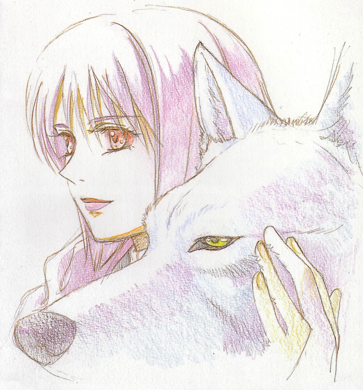 Wolf's rain wolfsrain anime Cheza & Kiba manga