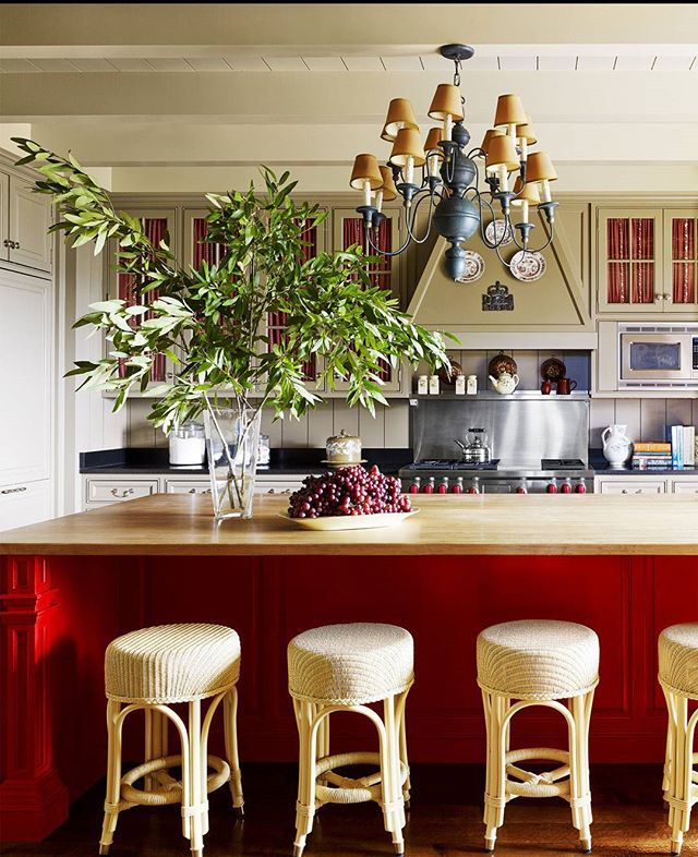 Dallas Kitchen Design Cool A Dallas Kitchen Makes An Impression In Red Photo Design Decoration