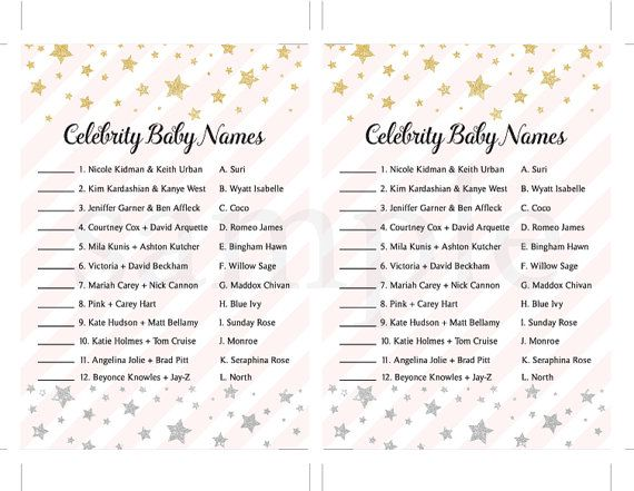 Pink and gold baby shower Pink and gold Celebrity by deardeary