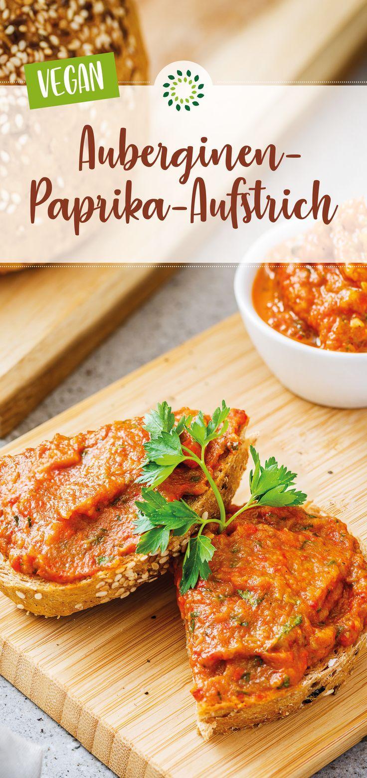 Auberginen-Paprika-Aufstrich