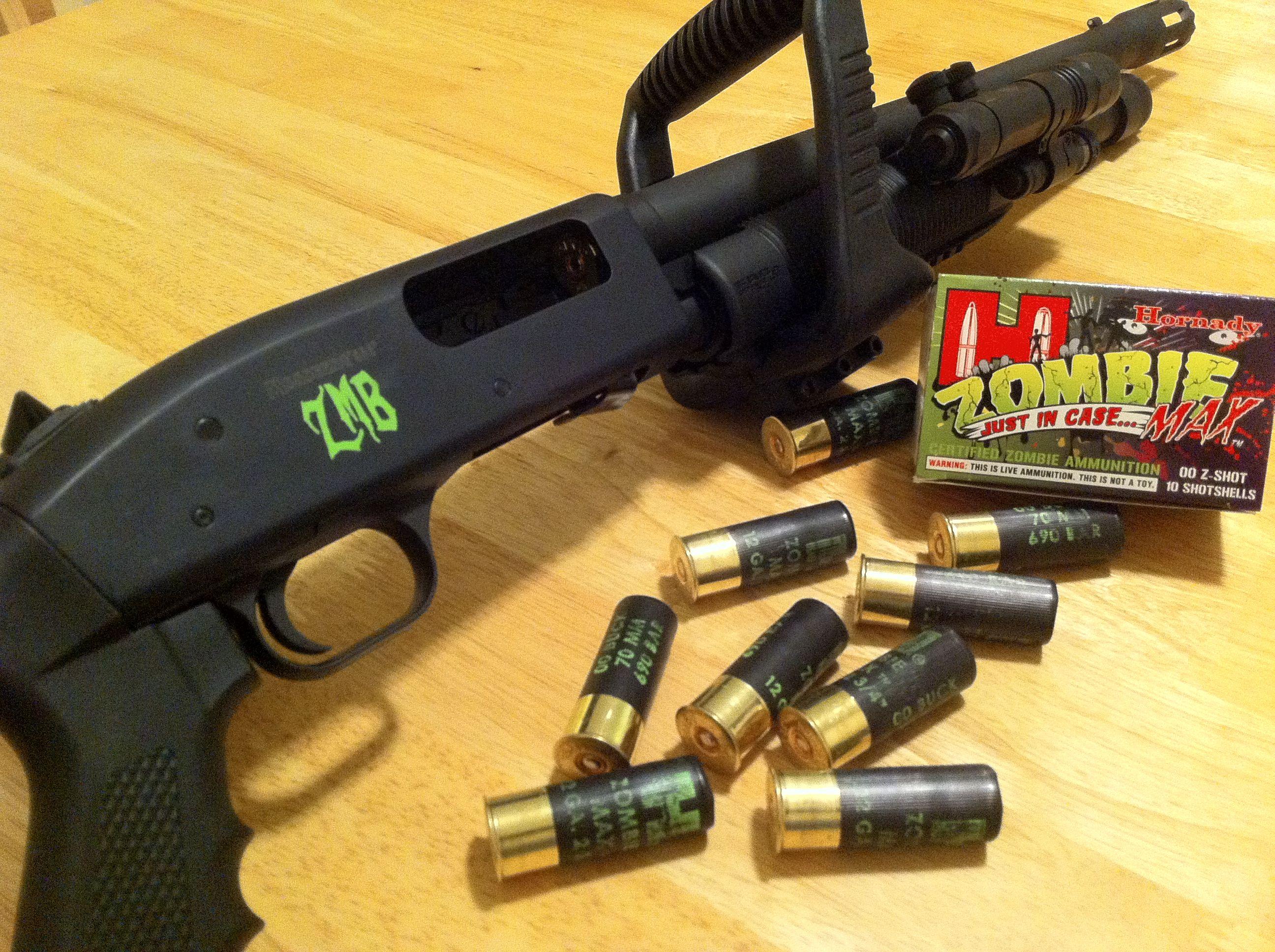 Red dress zombie ammo