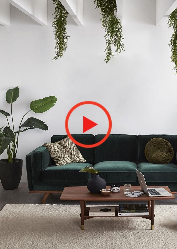 BOHO-STYLE: THE SOFA FROM GREEN VELVET 6 STYLISH OPTIONS Interiors | Cozy #aus #B