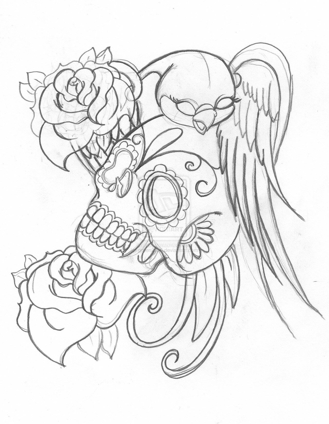 Pin By Silke Fassbender On Tattoos N Art Work Coloring Pages Drawings Tattoo Designs