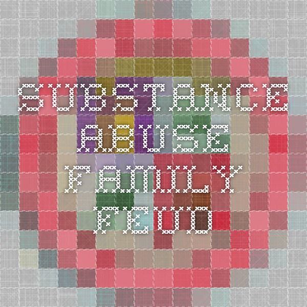 substance abuse family feud