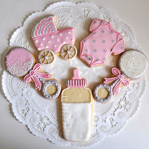 baby shower cookies baby shower cookies pinterest pink cookies