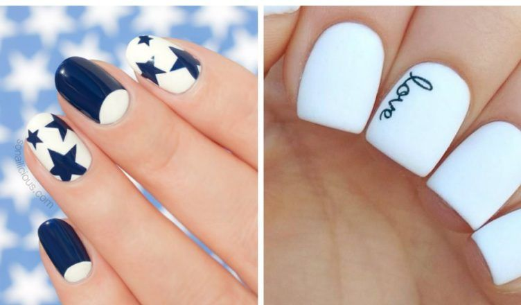 White nails 2018: fashionable ideas and trends of white nail