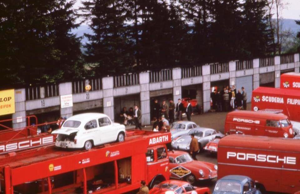 Porsche & Abarth collaboration