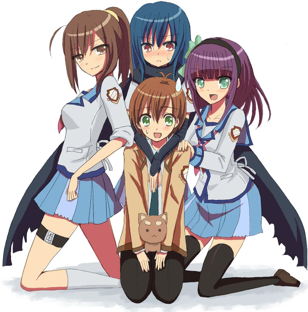 Miyuki Irie: Angel Beats!, Shiina (Angel Beats!), Nakamura Yuri, Hisako