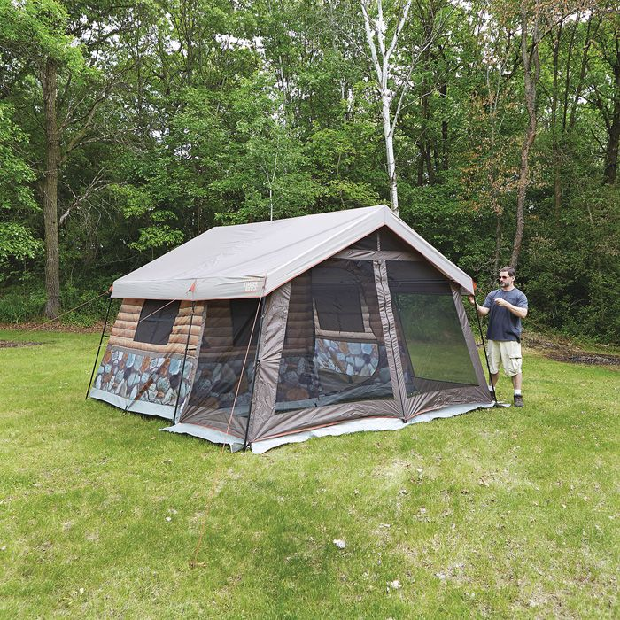 Timber Ridge 8-Man Log Cabin Tent : timber ridge tent - memphite.com
