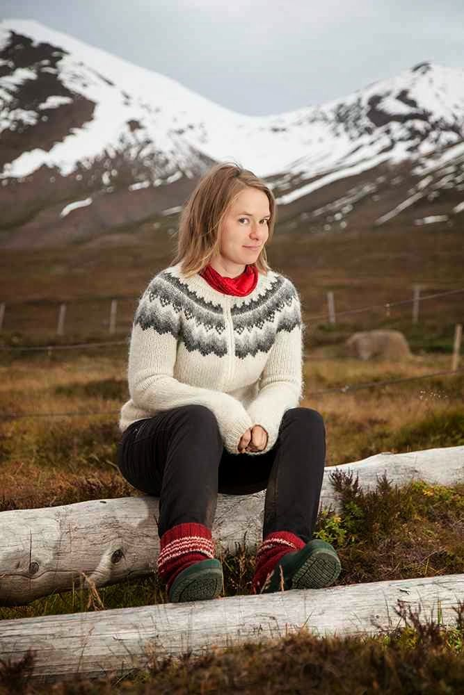 Icelandic lopapeysa. 100 % hand made, 100 % Icelandic wool.