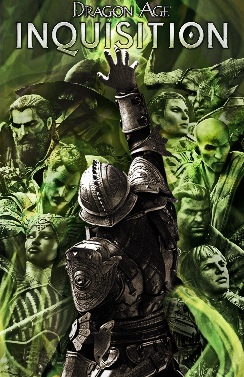 dragon age inquisition the poster collection