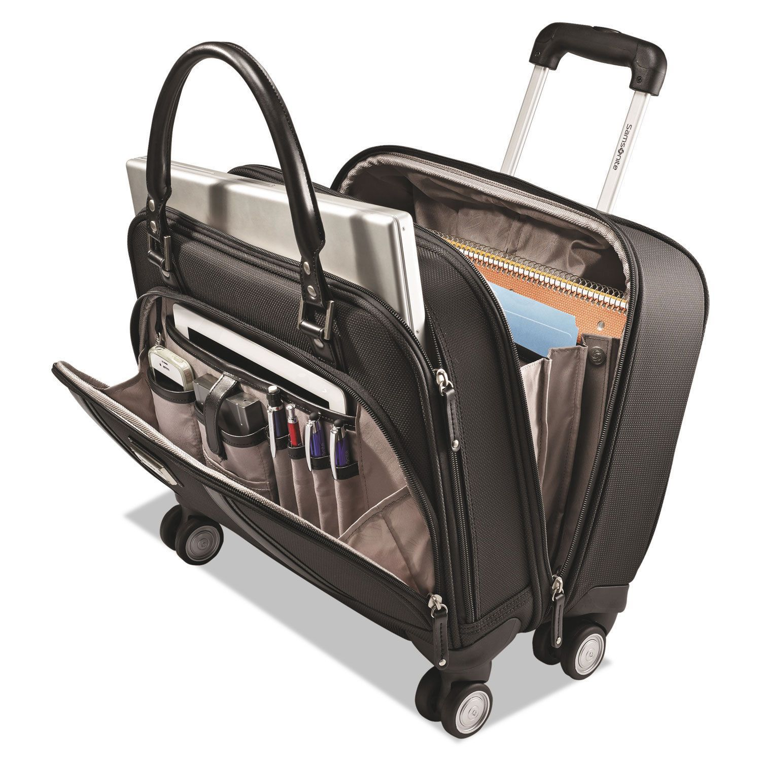 Samsonite Women S Rolling Mobile Office 16 1 2 X 8 13