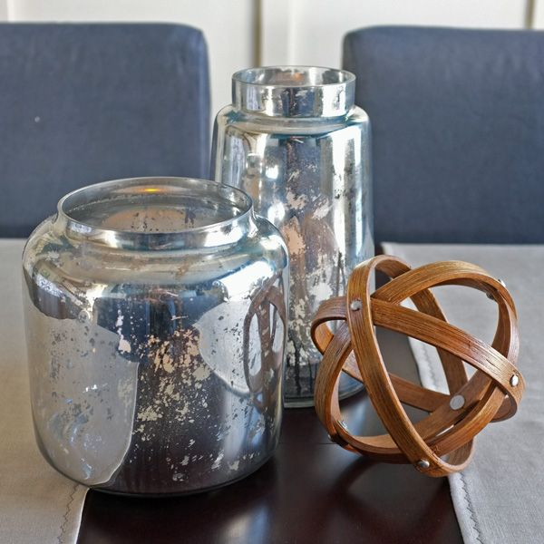 DIY Mercury Glass  another beautiful project from 'Teal and Lime'