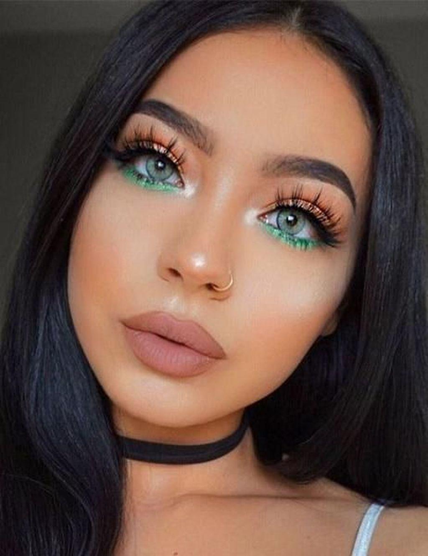 41 Perfect Green Eye Makeup Ideas MakeupIdeasContouring