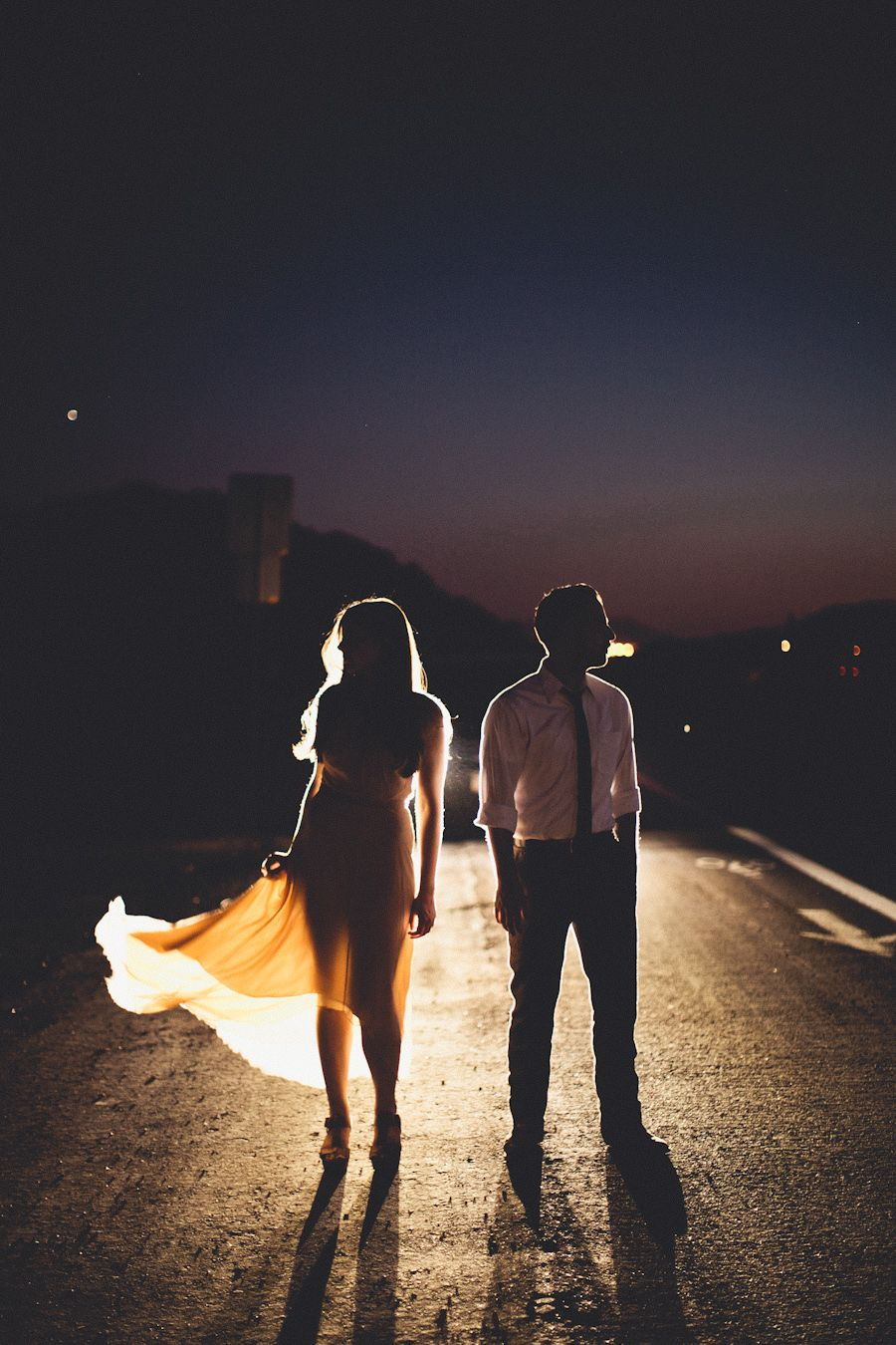 silhouette lighting definition. car lights from behind to create a silhouette this couple is awesome lighting definition i