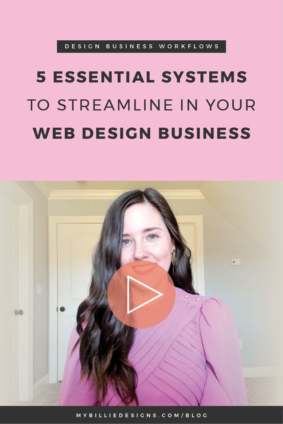 5 Essential Systems To Streamline In Your Web Design Business My Billie Designs Freelance Web Design Web Design Business Design