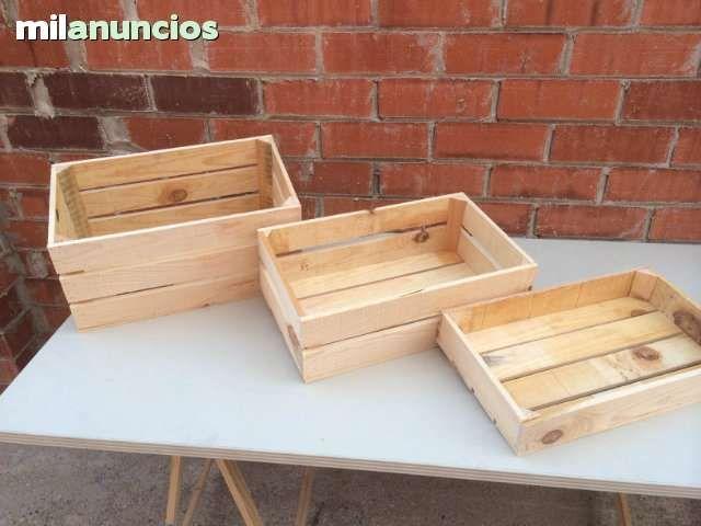 cajas de madera nuevas hechas a mano t picas cajas de fruta
