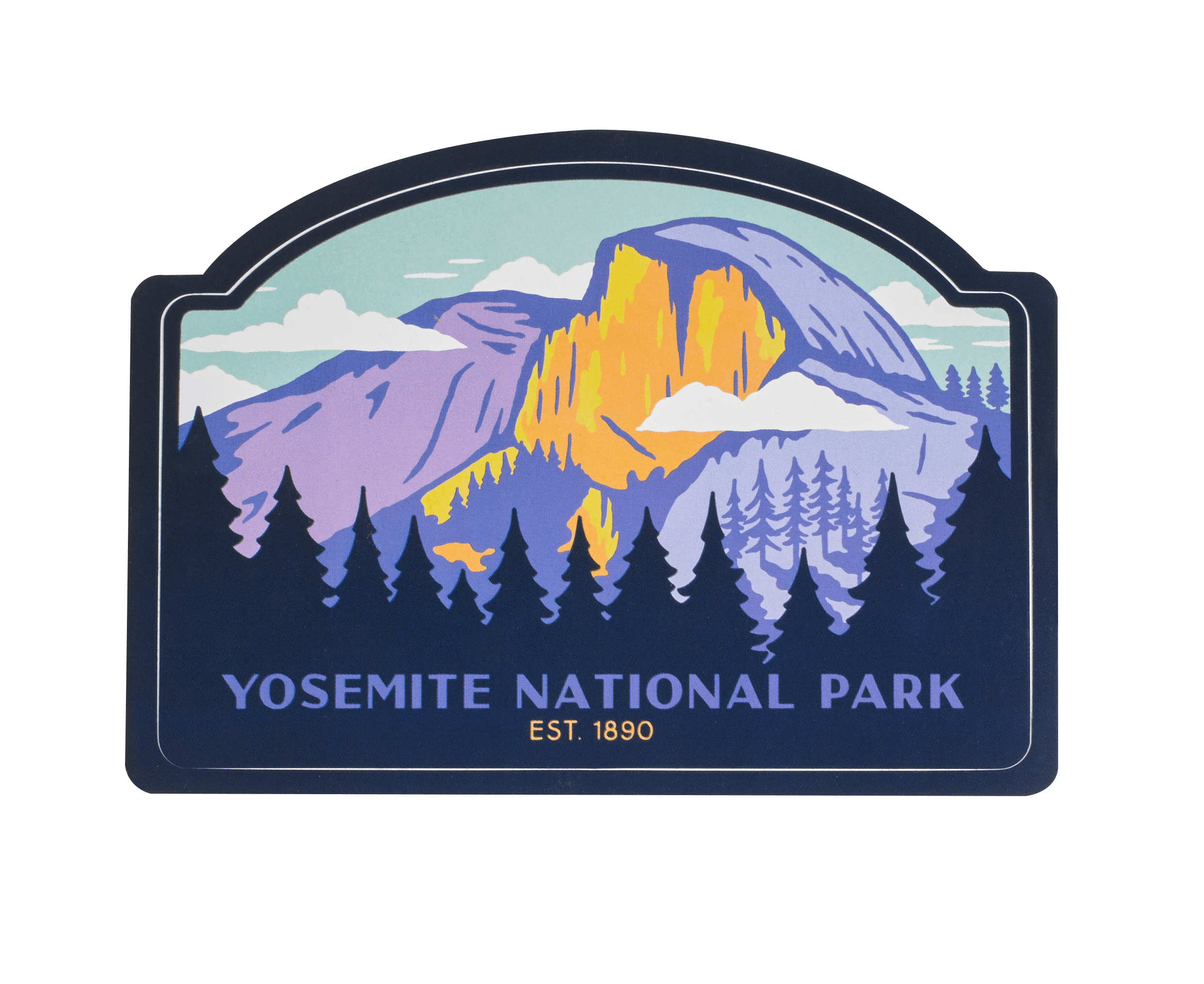 Yosemite National Park Sticker Yosemite National Park Photography Yosemite Art National Parks