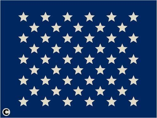 Primitive Stencil 50 Stars 3 4 Inch For American Flag Patriotic Craft Projects Patriotic Crafts Wooden American Flag Wood Flag