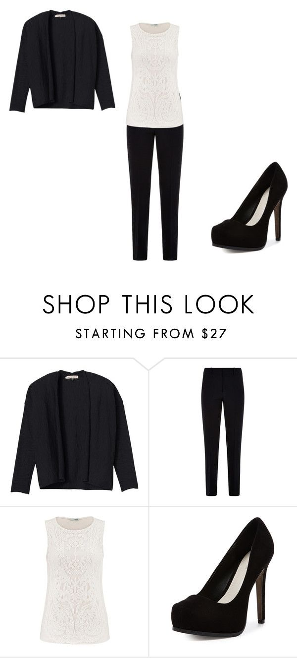 """""""Untitled #242"""" by rayne-hudson ❤ liked on Polyvore featuring Rebecca Taylor, Armani Collezioni, maurices and Pour La Victoire"""