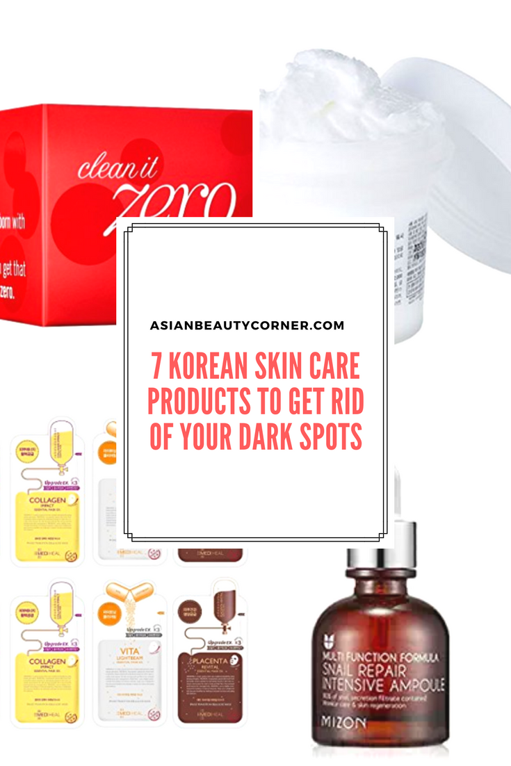 Products Against Dark Spots 7 Korean Products To Get Rid Of Your Dark Spots Asianbeauty Kbeauty Bea Skin Care Wrinkles Vaseline Beauty Tips Korean Skincare