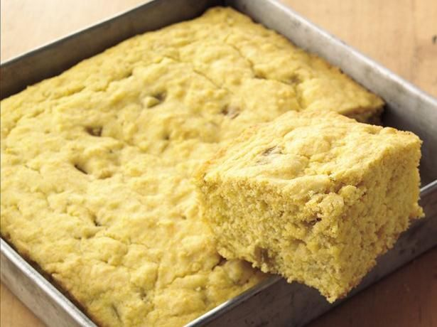 Corn Bread with Chiles | Recipe | Cheddar, Chili and Corn bread