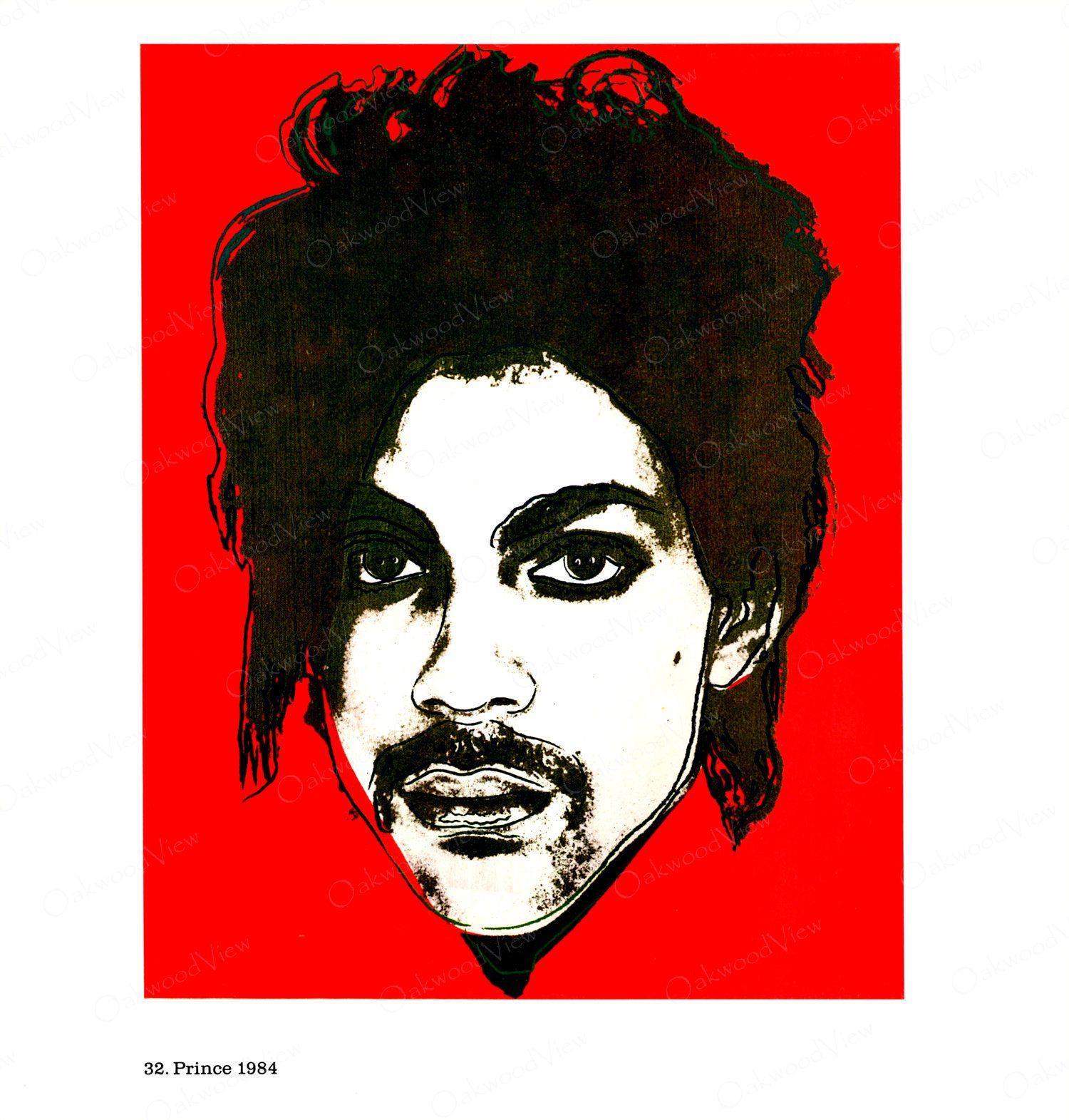 Andy warhol prince 1 rock star rb singer musician