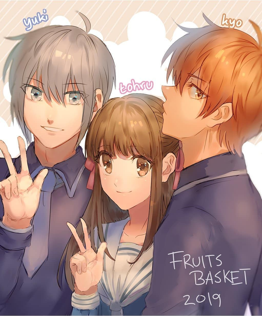 Fruits Basket fruitsbasket fruitsbasket2019 saharaujom