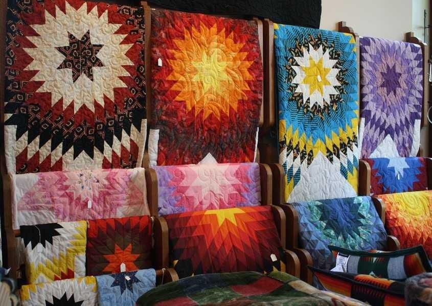 Native American Star Quilts Quilting And Fiber Arts