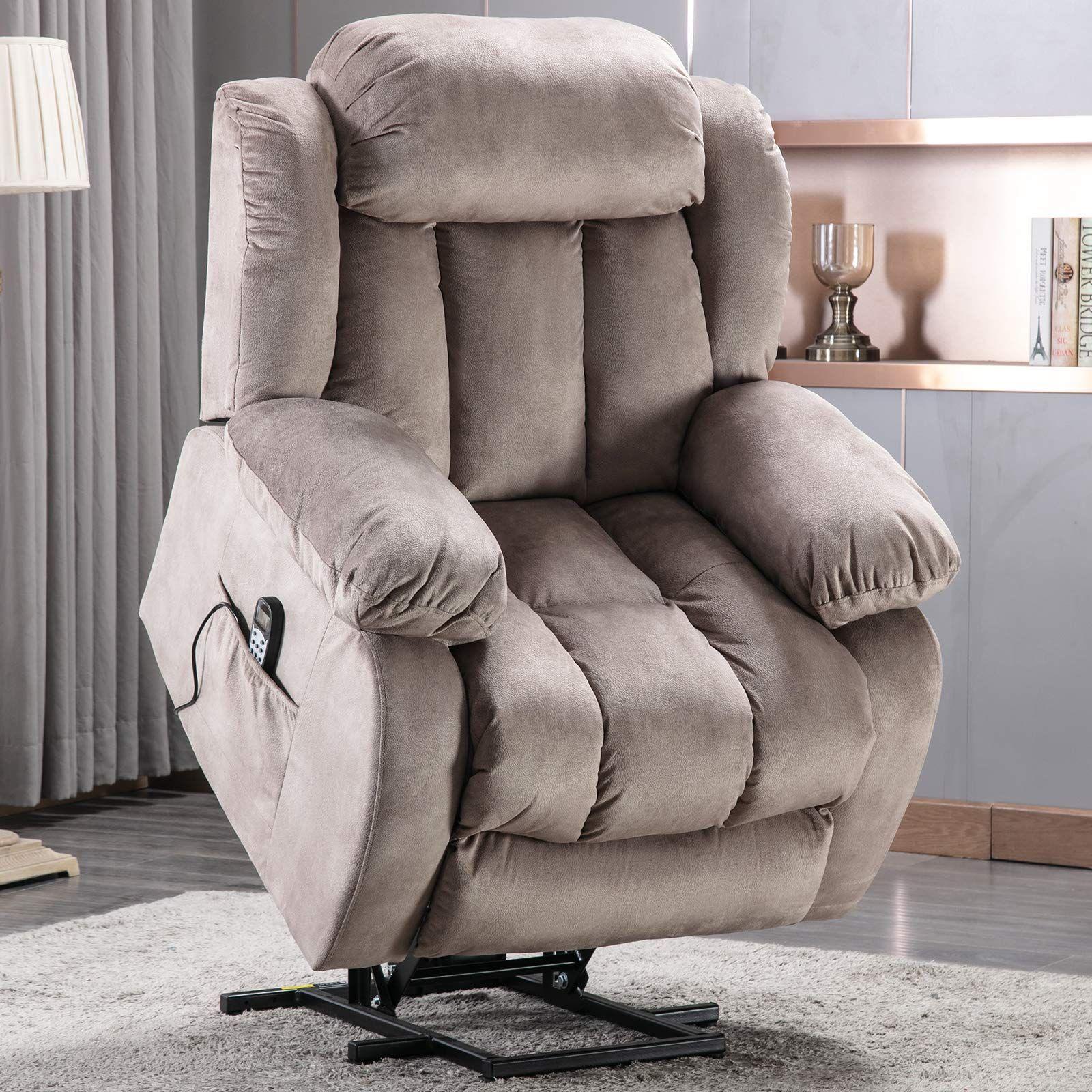 ANJ Power Lift Recliner Chair with Massage & Heat