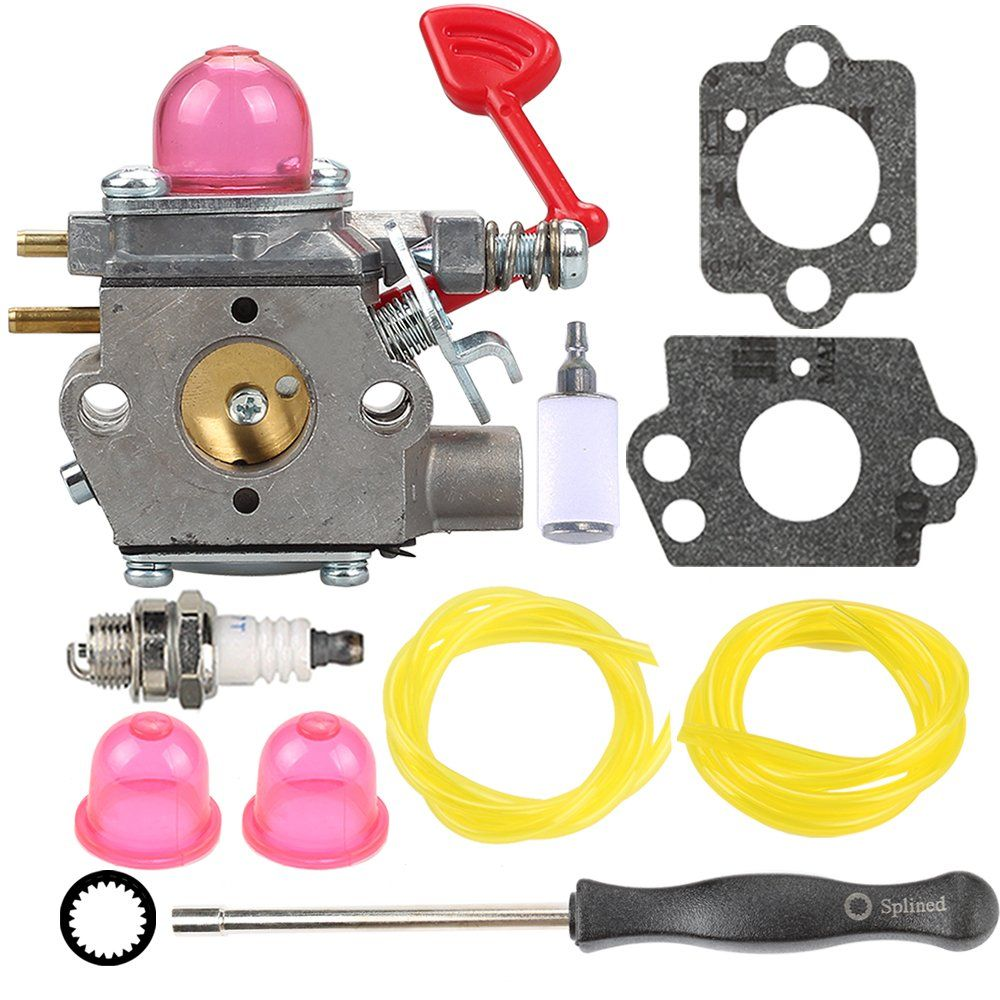Wt875 Carburetor With Fuel Line Filter For Craftsman Poulan Pro