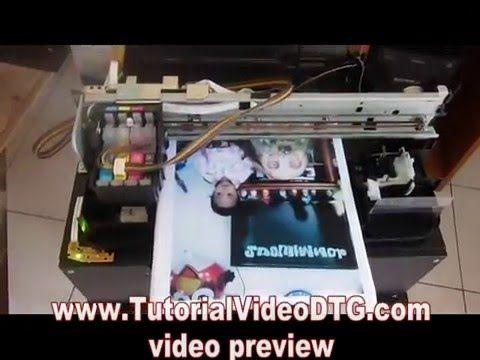 Dvd Tutorial Membuat Dtg Printer Printer