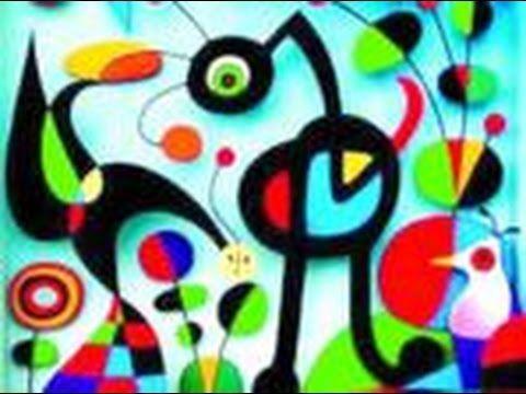 Vida I Obra De Joan Miró Naif Arte Infantil Arte Para Crianças