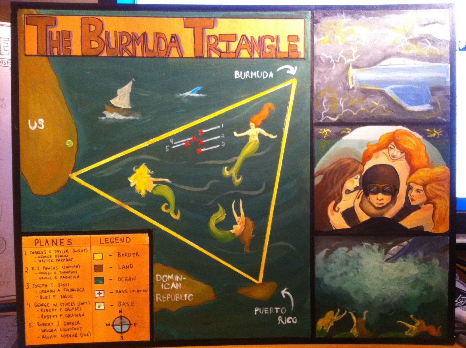 project of bermuda triangle  Yahoo Image Search Results