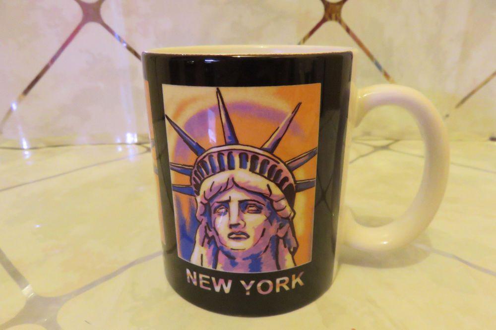 "Souvenir Statue of Liberty New York 4"" Coffee Mug Collector NEW"