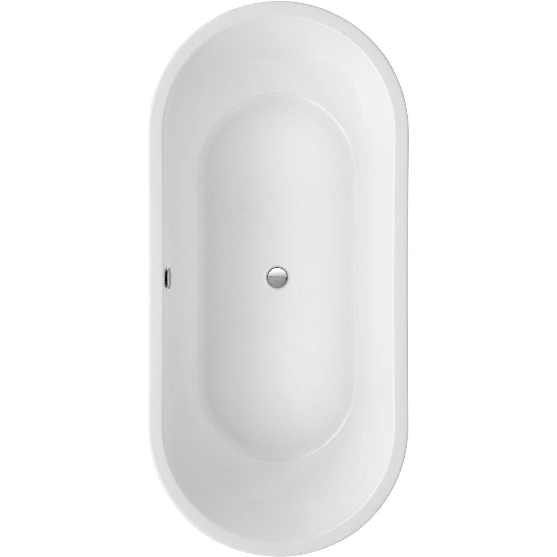 Freistehende Badewanne Carney 190 Cm X 89 5 Cm Weiss Kaufen Bei Obi Badewanne Freistehende Badewanne Wanne