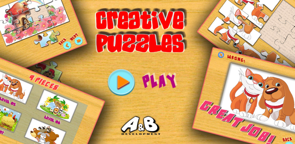 Great Game For Kids And Adults Easy Educational Creative Puzzles