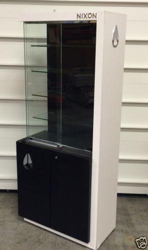Nixon Watches Watch Display Case Cabinet 6 Feet Tall Ebay