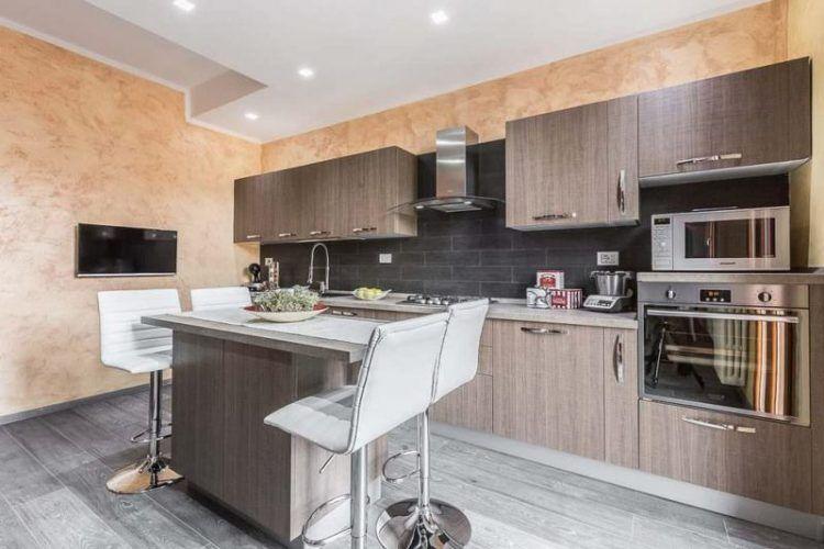 Étkezőpult ötletek, reggeliző pultok modern konyhákban - praktikus ...