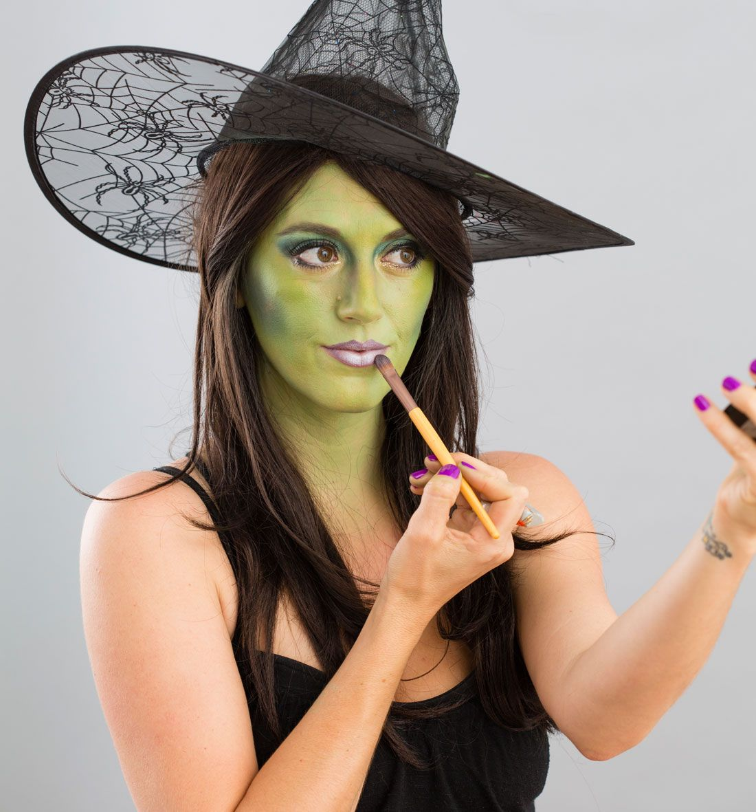 Halloween Makeup 101 Turn Yourself into a Witch Witch