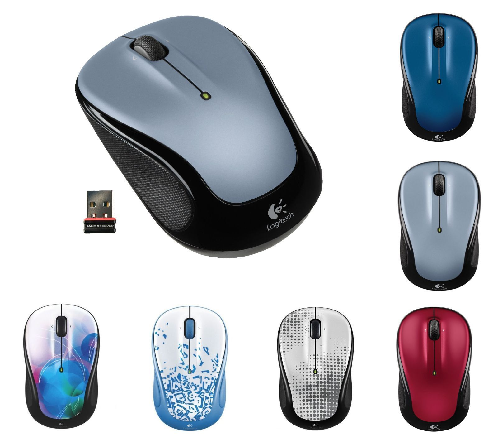 Details about Logitech M325 Wireless Mouse for PC Mac