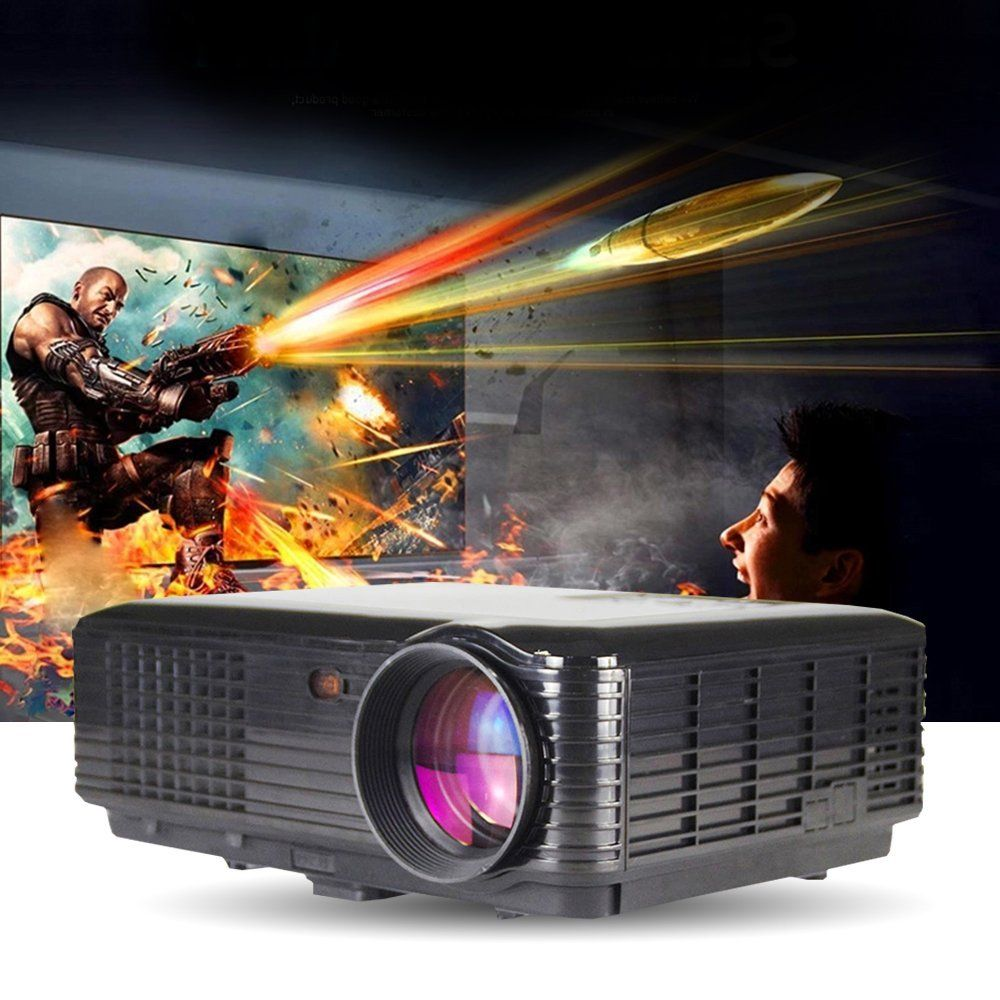 Review of lightinthebox 3500lumens 3d smart projector hd for Miroir hd pro projector review