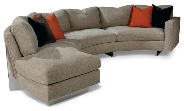 cool clip sectional from thayer coggin contemporary sectional sofas thayer coggin - Cool Sectional Couches