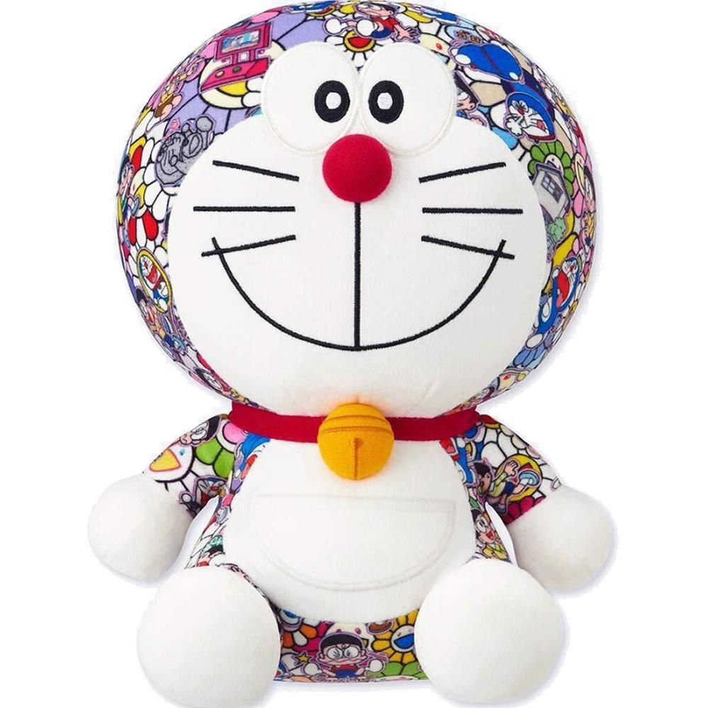 Authentic Doraemon x Takashi Murakami x Uniqlo Plush Doll Toy NEW With tags