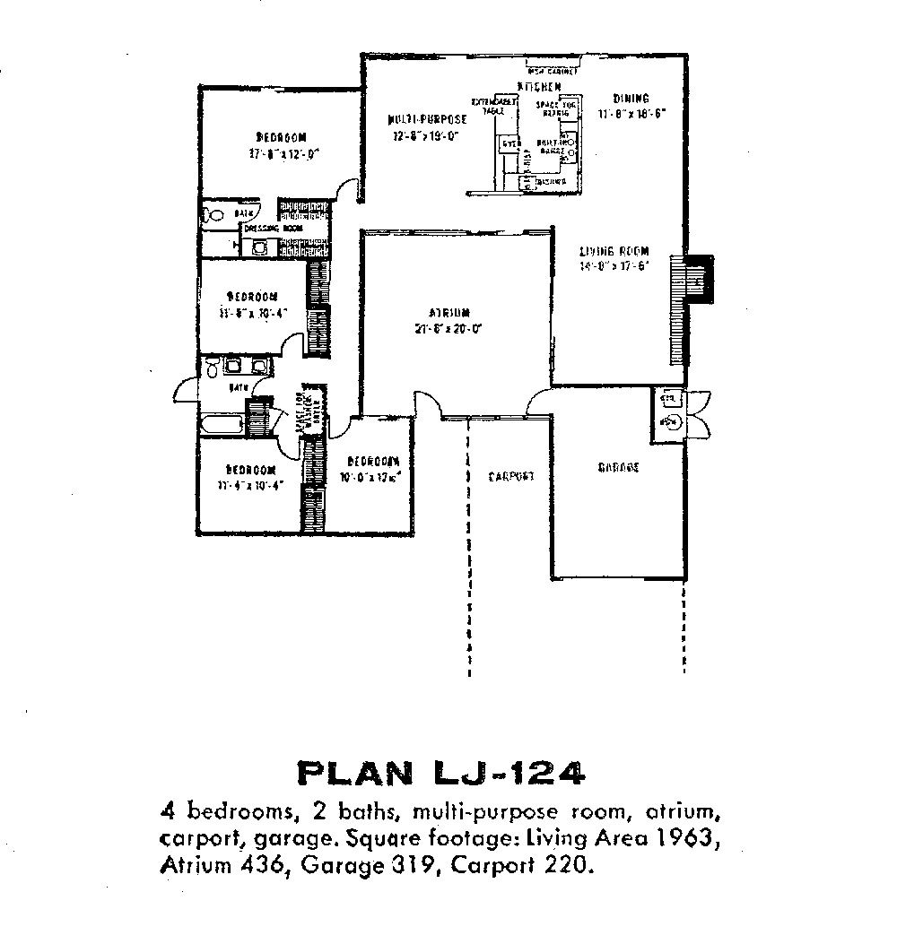 Fairhaven lj 124 thumb architecture pinterest sound Eichler atrium floor plan