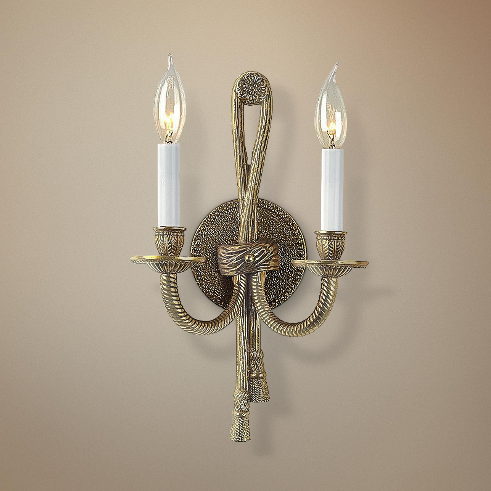 Ada Compliant Two Light Wall Sconce